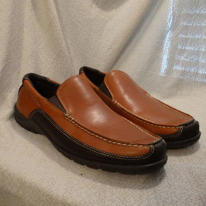 Bass Triumph Tan Leather Loafers 11 1/2D